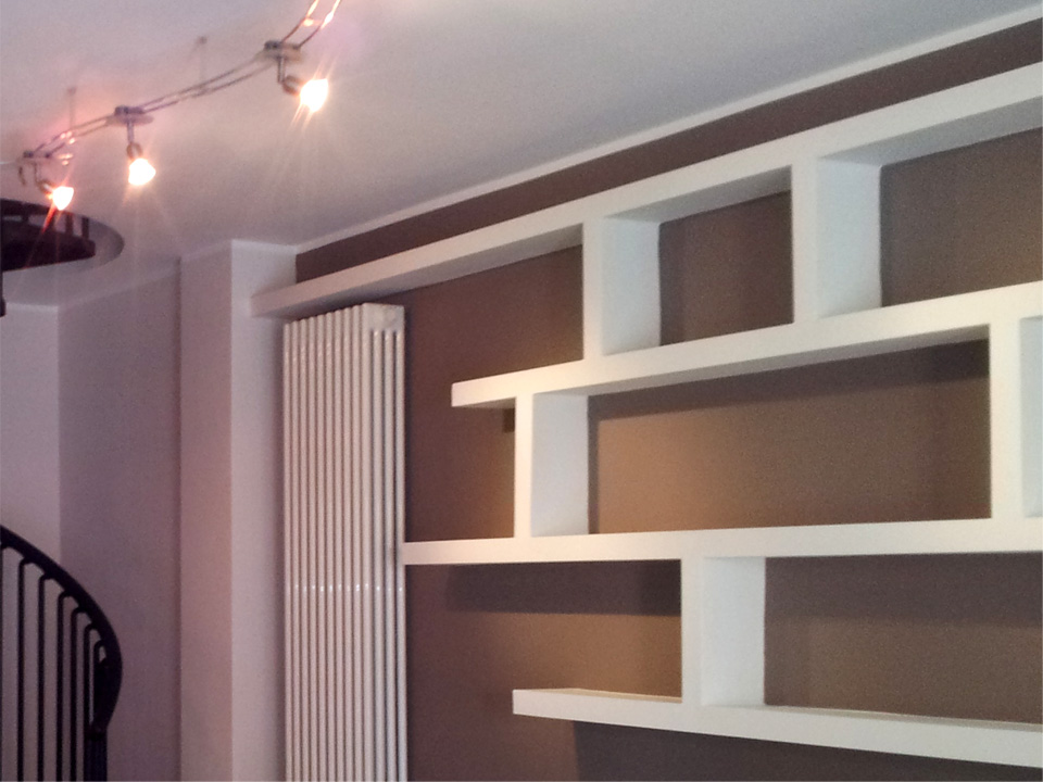 Librerie Pareti Soffitti In Cartongesso Pictures to pin on Pinterest