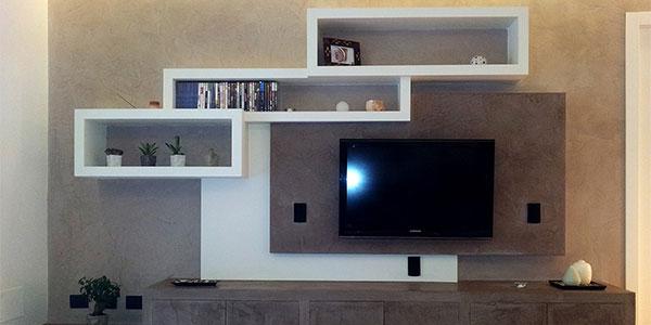 Cgs design cartongesso for Idee imbiancatura soggiorno